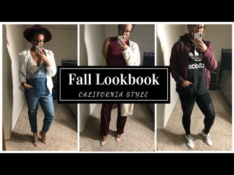 FALL LOOKBOOK | AUTUMN OUTFITS OF THE WEEK | CALI STYLE