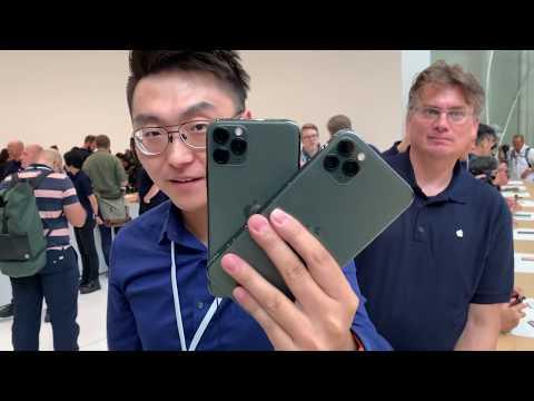 Apple iPhone 11 Pro Max Hands-On | 蘋果 iPhone 11 Pro Max 現場上手:拍照大幅提升,前後四攝可同時工作