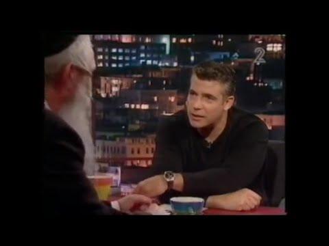 יאיר לפיד מארח את הרב דוד גרוסמן
