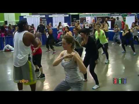 2016 FitExpo in San Jose, CA - Billy Blanks Tae Bo Workout