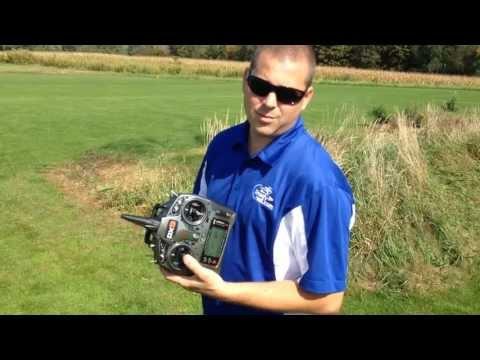 Spektrum DX9 Unboxing / Features / Flight  Review - Chris Reibert