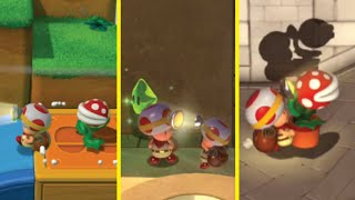What if all Super Mario 3D World levels were Captain Toad levels?