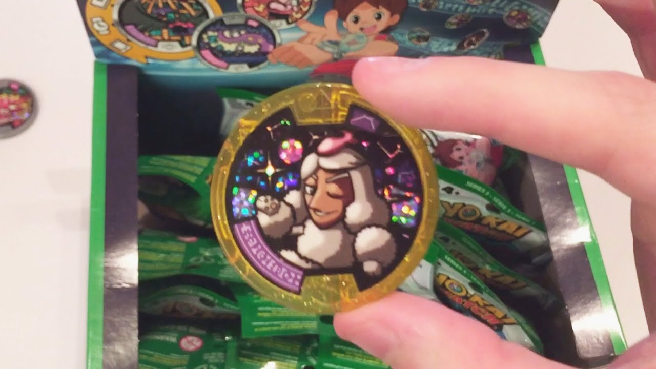 Yo Kai Watch Series 3 Medal Mystery Box Part 1 2 Youtube