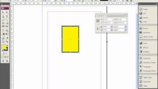 Трансформация объектов в Adobe InDesign
