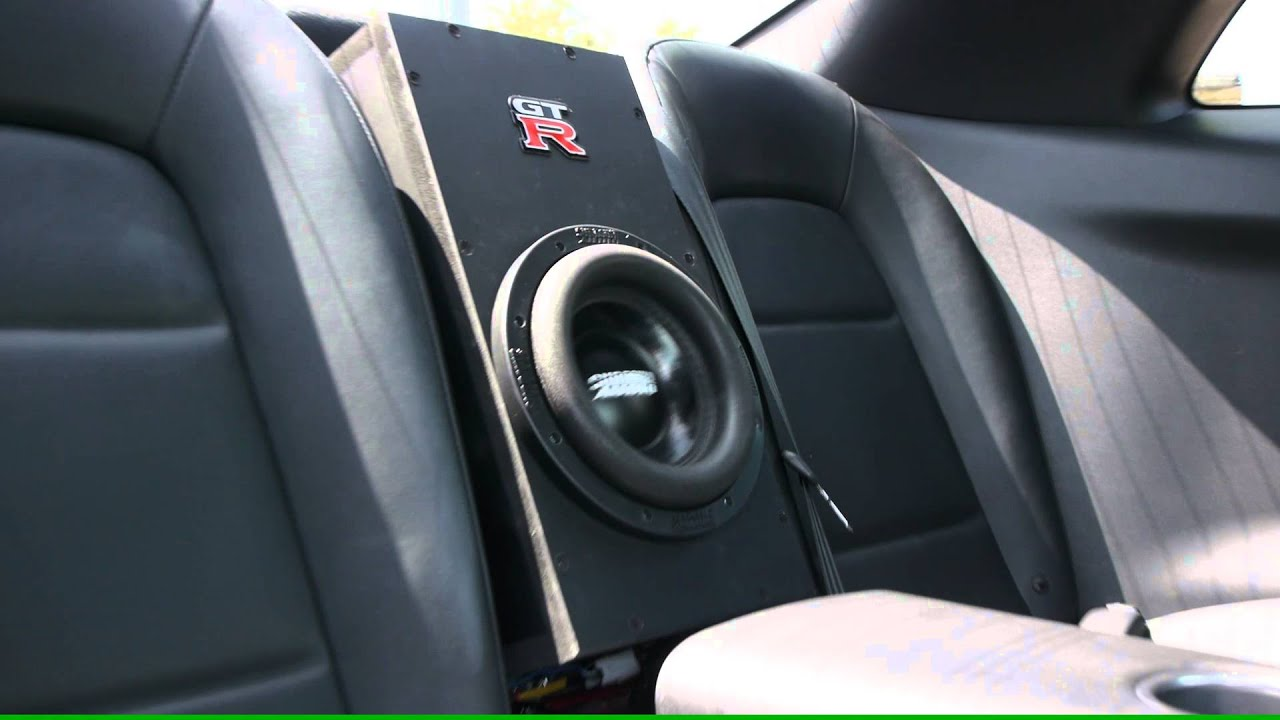 Nissan R35 Gtr With Sundown Sd 2 8 Quot D4 Sub In Oem Location
