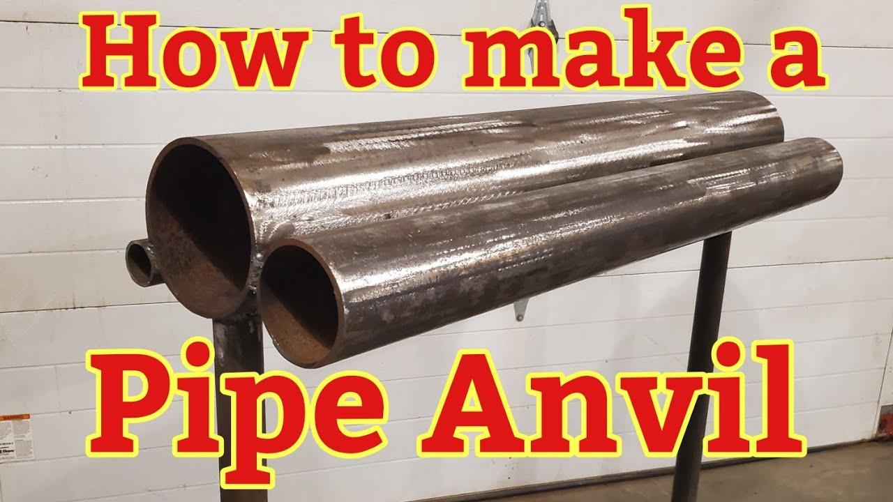 Как сделать наковальню из трубы