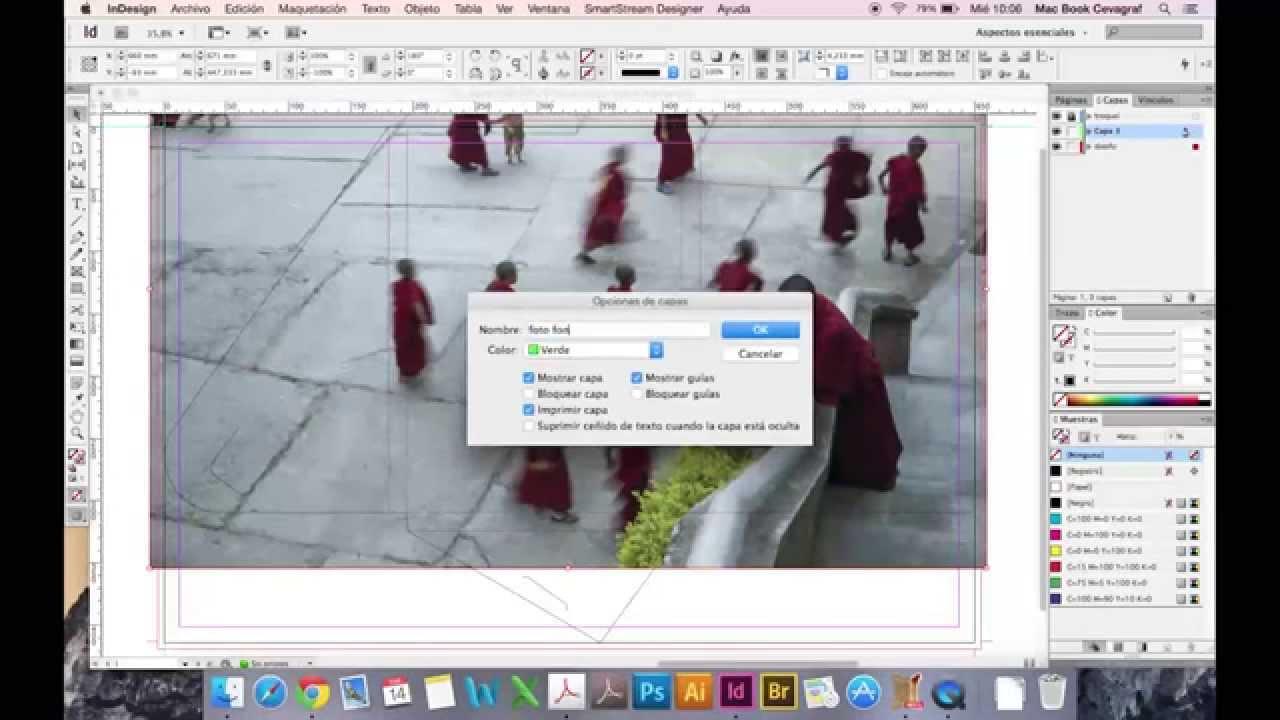 Como diseñar una carpeta con troquel - YouTube