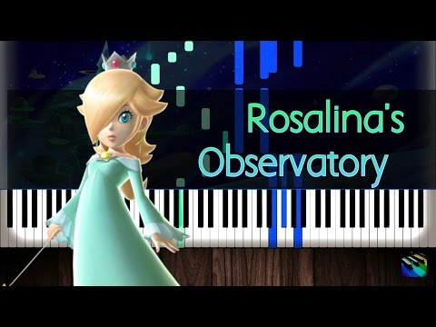 Super Mario Galaxy-Rosalina in the Observatory-Piano Tutorial