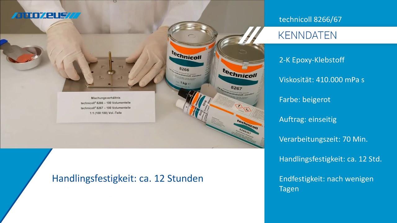Hervorragend Edelstahl mit Aluminium kleben mit technicoll 8266/67 - YouTube PC69