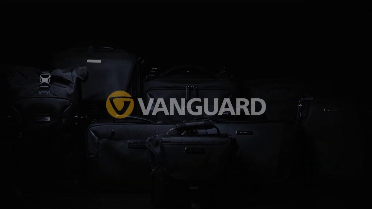 【VANGUARD】バンガード史上シリーズ 最多モデル カメラ/ガジェットバッグ「VEO SELECT」ブラックモデルPV