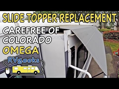 Carefree of Colorado Omega  Slide Topper Replacement