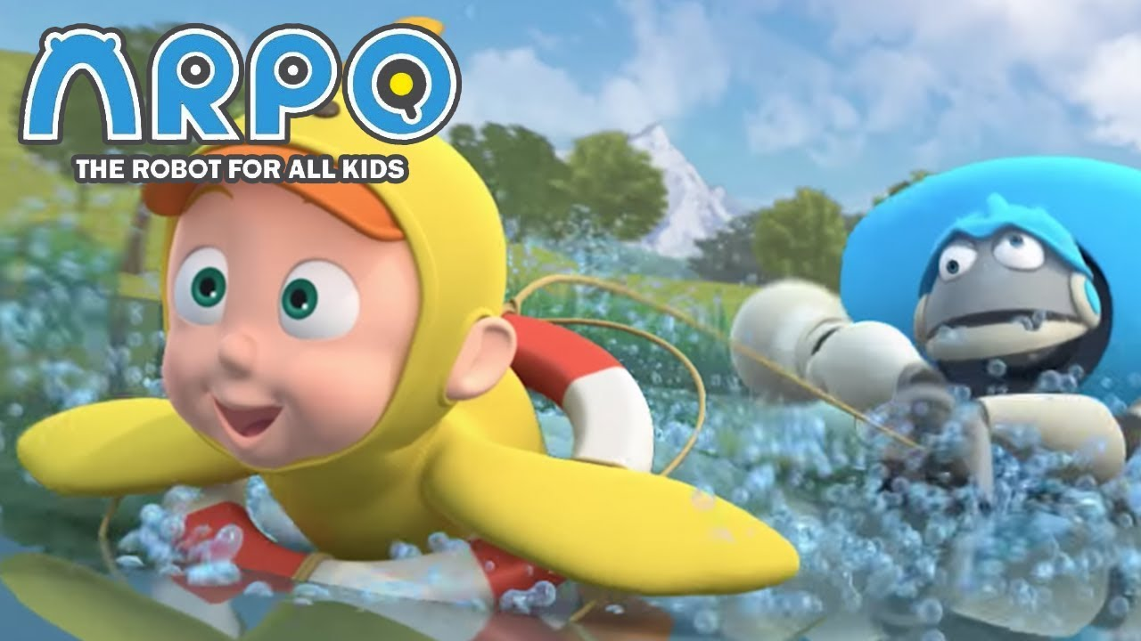 ARPO The Robot For All Kids - Fistful Of Ducklings | Full Episode | Videos For Kids