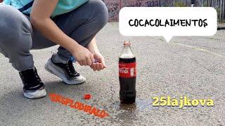 COCACOLA I MENTOS  *eksplodiralo*