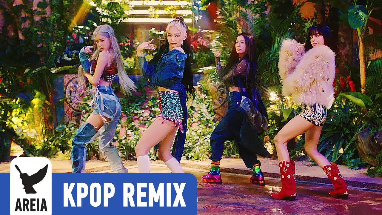KPOP REMIX | BLACKPINK - How You Like That (Areia Kpop Remix #390)
