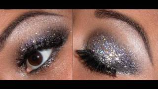 Glitter eyes for New Years Eve!!!