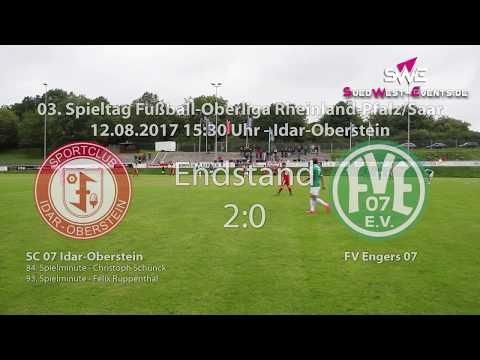 Oberliga RLP/Saar SC 07 Idar-Oberstein gegen FV Engers