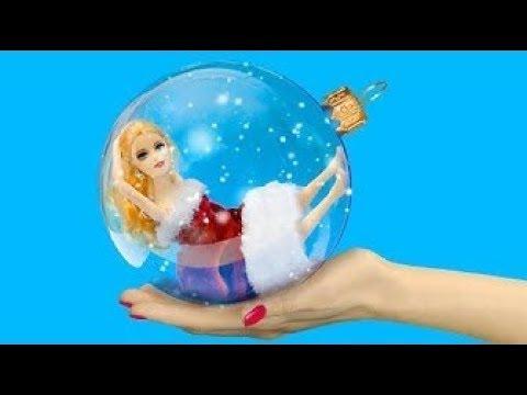 Die 14 Besten Barbie Tricks Für Weihnachten Weihnachten Basteln Für Barbie