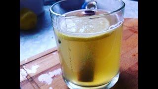 Горячий Тодди (Горячий виски с мёдом и лимоном )