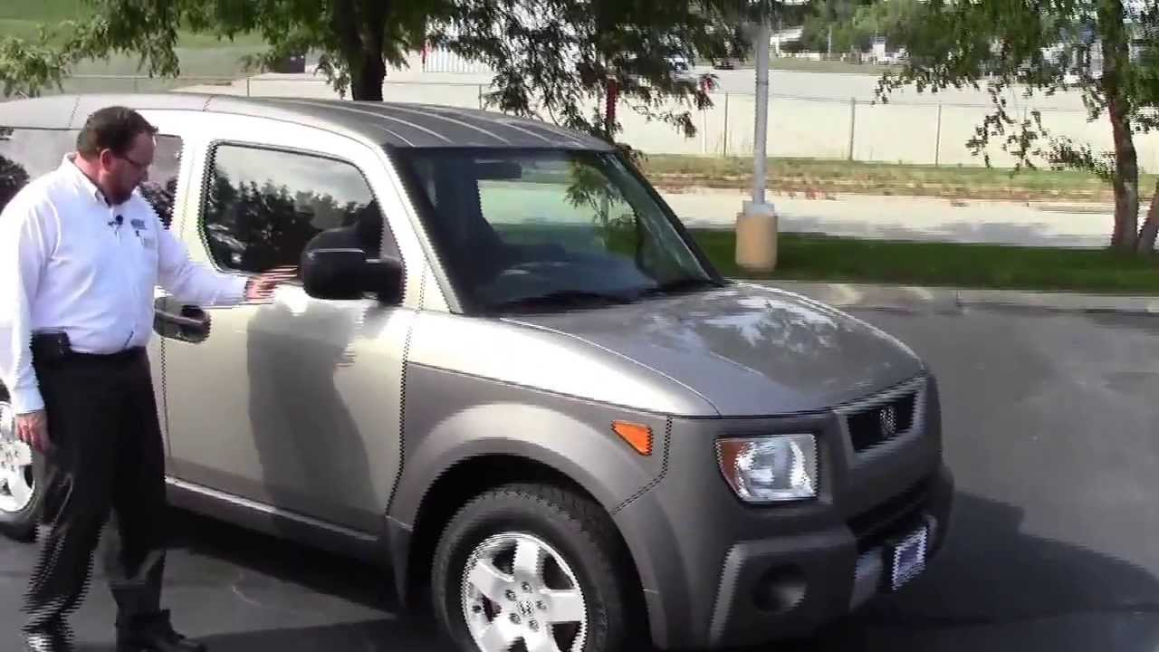 used 2003 honda element ex 4wd for sale at honda cars of bellevue rh youtube com honda element manual transmission for sale 2004 honda element manual for sale