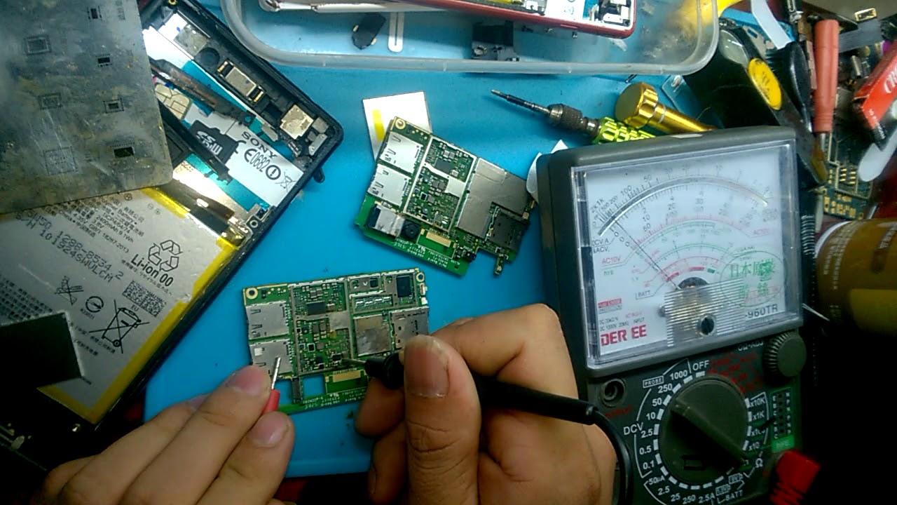 cách tìm tụ chập trong main điện thoai ( máy bị chập nguồn ) dạy sửa chữa điện thoại