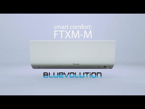 Daikin FTXM-M - Wall mounted indoor unit - Smart comfort