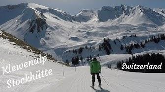 Ski day at Klewenalp Stockhütte, Switzerland