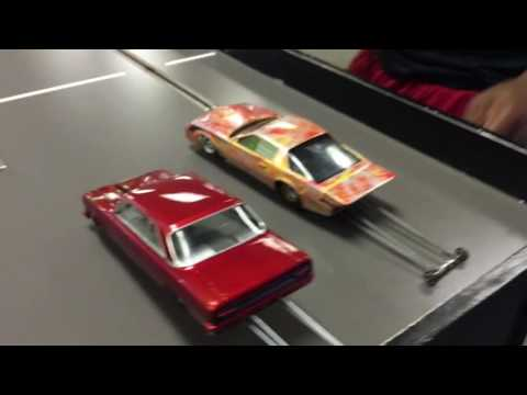 Ohio vs Michigan boyz slot car drag racing