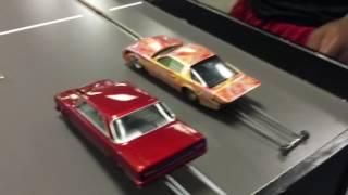 Ohio vs Michigan boyz slot car drag racing