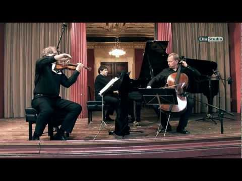 ALTENBERG TRIO WIEN Im WIENER MUSIKVEREIN - F. Mendelssohn. KLAVIERTRIO In D-moll, (I)