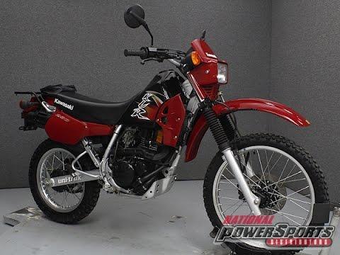 2004 Kawasaki Klr250 National