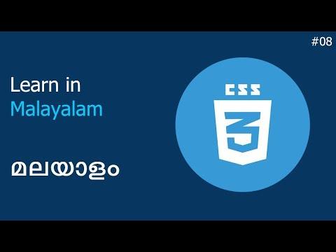 CSS Malayalam   08 - Pseudo Class   വെബ് ഡിസൈൻ മലയതിൽ