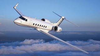 Частный самолёт Gulfstream  как это сделано