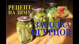 Засолка огурцов на зиму с уксусом рецепт Как солить огурцы