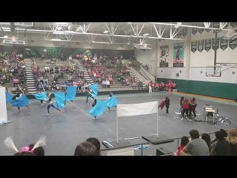 """Victoria West High School Colorguard """"This Is Me"""""""