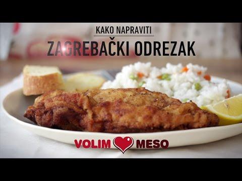 Kako Napraviti Zagrebacki Odrezak Youtube