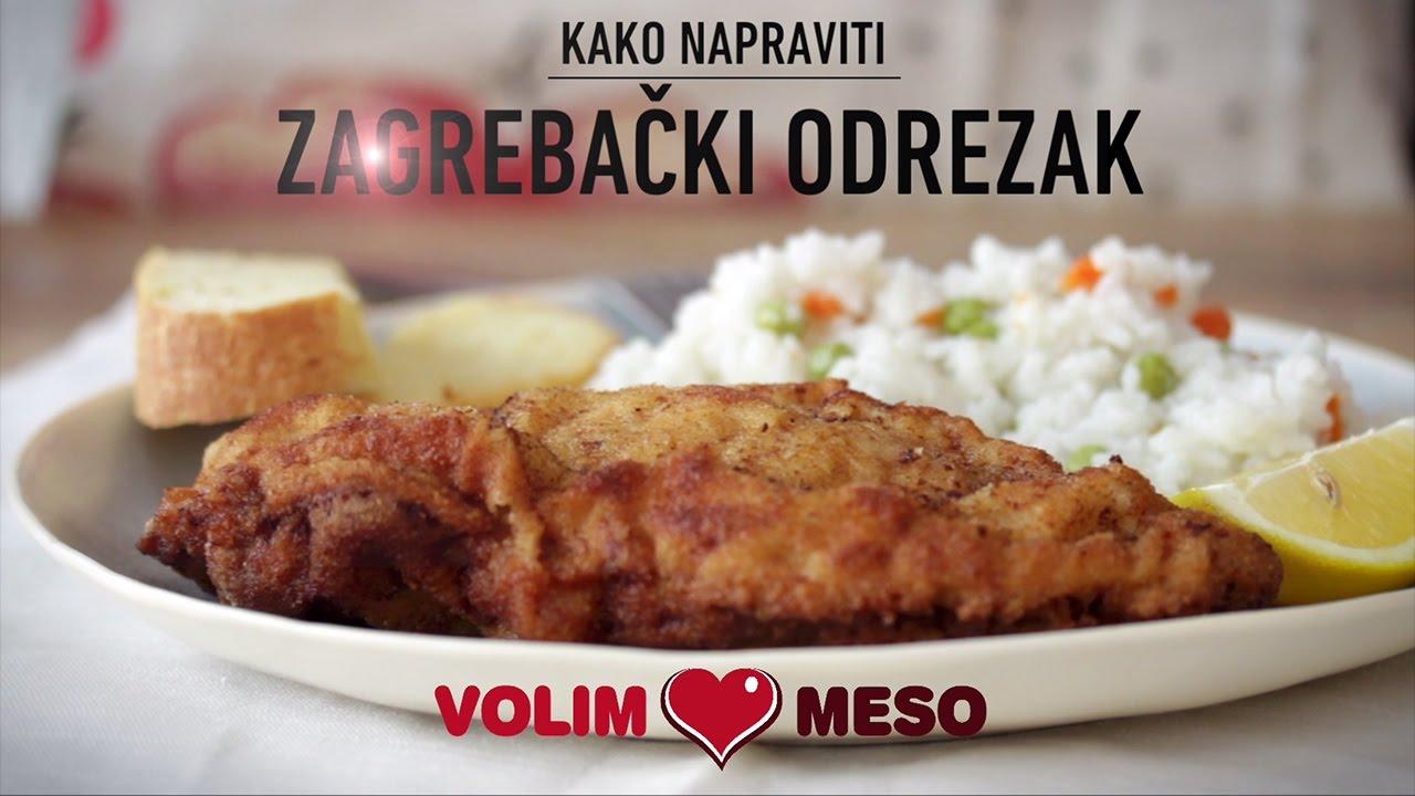 Zagrebacki Odrezak Zlato Na Tanjuru