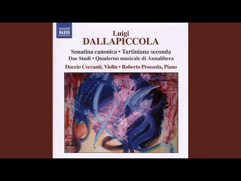 Quaderno musicale di Annalibera: No. 1. Simbolo