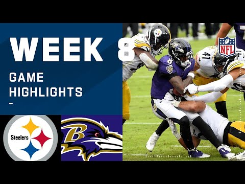 Steelers vs. Ravens Week 8 Highlights   NFL 2020