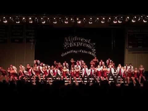 Holmen High School Midwest Express Exhibition Performance at the 2018 Gathering of the Stars Invite