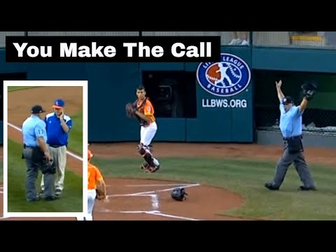 Odd Rule Call For LLWS 2016. Dead Ball. How Many Bases?
