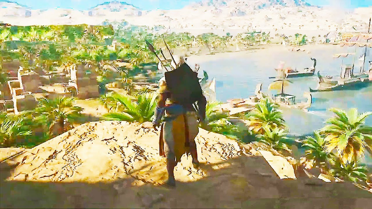 Assassins Creed Origins 39 Minutes Of Gameplay Demo Ps4 Xbox One