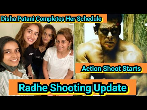 Radhe Shooting Update, Disha Patani Wraps Up Shoot, Salman Khan To Start Action Shoot