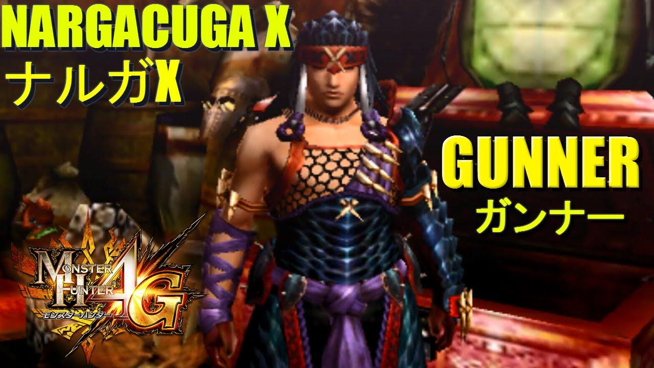 Monster Hunter 4 Ultimate G Rank Armor Overview Nargacuga X Gunner