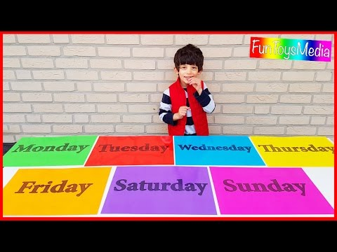 Thumbnail: Learn Days of the Week for Children and Toddlers | Learn Colors for Kids