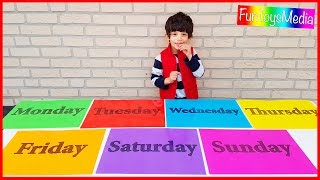 Learn Days of the Week for Children and Toddlers