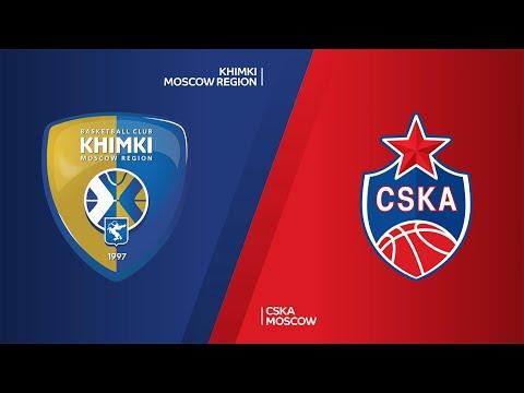 Khimki Moscow Region - CSKA Moscow Highlights | EuroLeague, RS Round 13