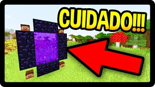COMO ENTRAR NA DIMENSAO DO HEROBRINE !!! - Minecraft Pocket Edition