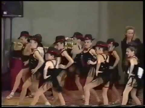 Karen's Dance Studio  KDS Dance Company competes @ Stars Of Tomorrow 1995 Waterbury, CT