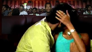 Repeat youtube video Mumbai On Couples Kissing In Theatre #BOB