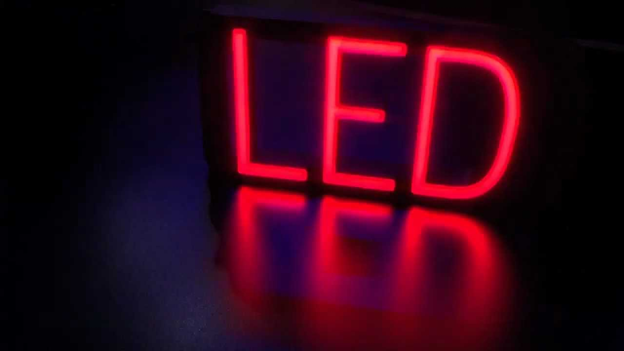 Create custom neon LED signs with SpellBrite ...